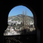 view of old town Granada