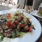 aubergine dish