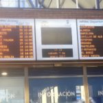 bus station departure board